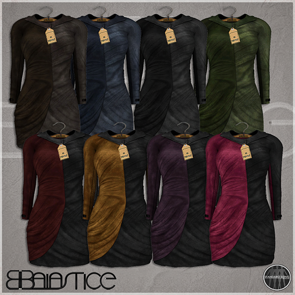 Baiastice_Monique suede dress-colours