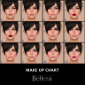 -Belleza- Ava Make Up Chart