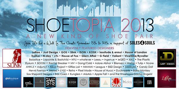 SHOETOPIA 2013 Poster