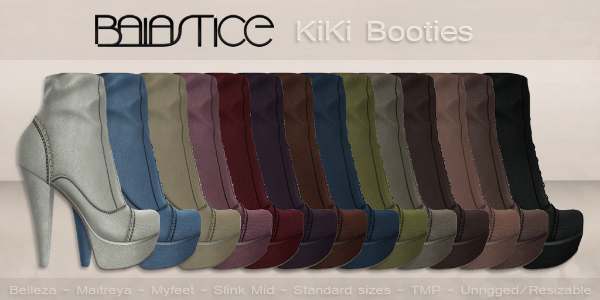 Baiastice_KiKi Booties-All Colors