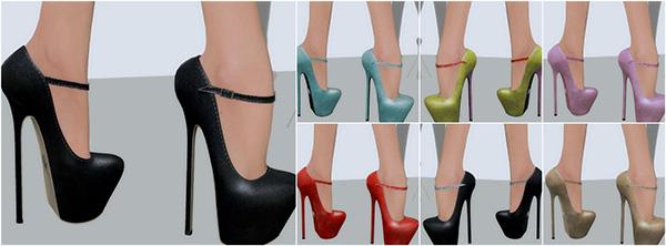 Glamistry  ANTHURIUM Heels