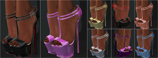 Glamistry HEATHER Heels -