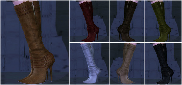 Baiastice_Pointed knee boots
