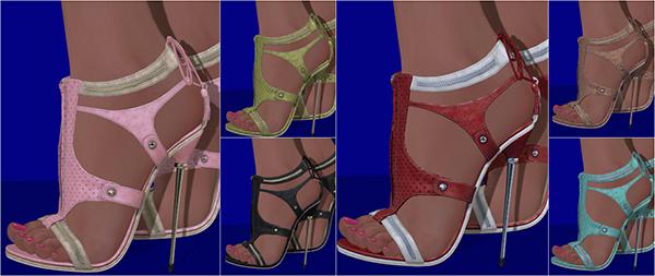 Glamistry CALYSTEGIA Heels